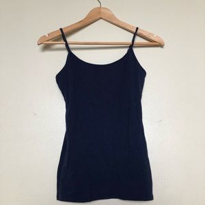 Never Worn Navy Camisole, Medium || Aerie